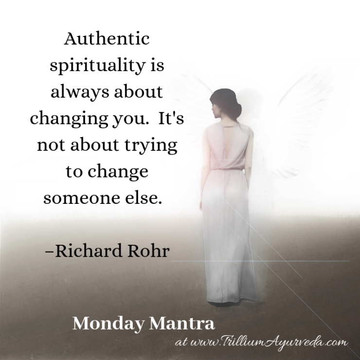 Authentic spirituality is always about changing you. It's not about trying to change someone else. –Richard Rohr-2.png